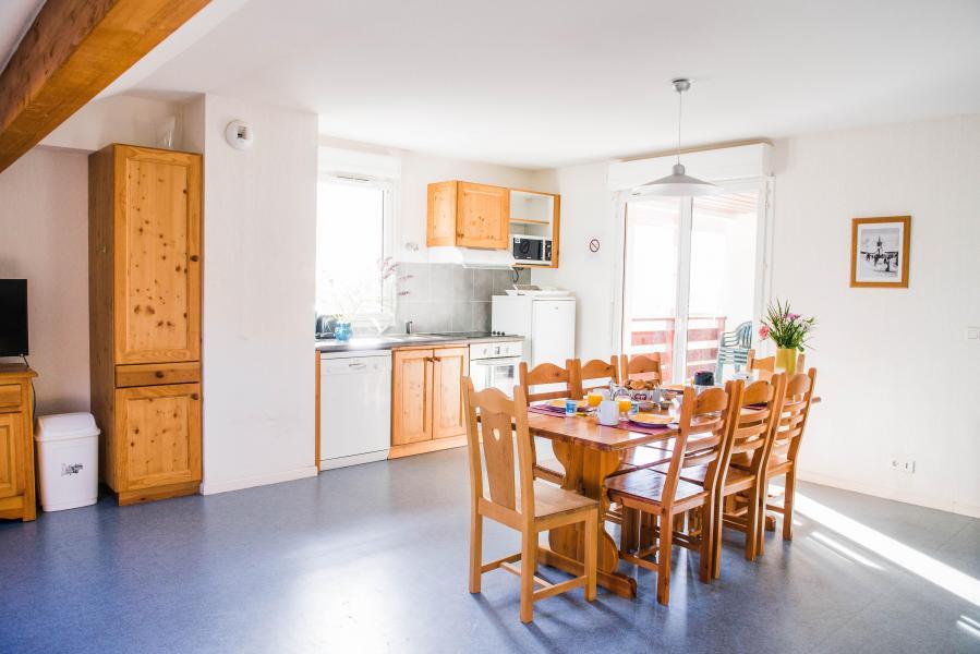 Urlaub in den Bergen Résidence Plein Soleil - La Norma - Küche