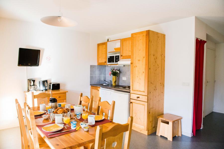 Vacances en montagne Résidence Plein Soleil - La Norma - Salle à manger