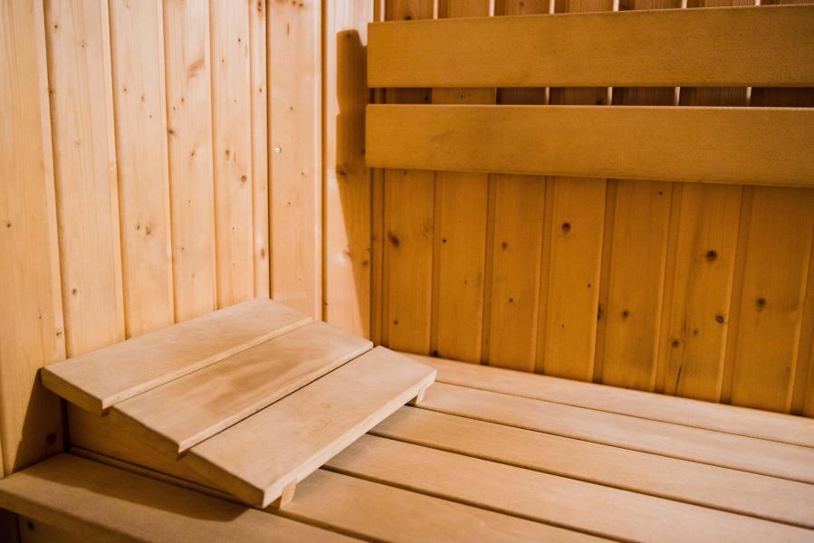 Vakantie in de bergen Résidence Plein Soleil - La Norma - Sauna