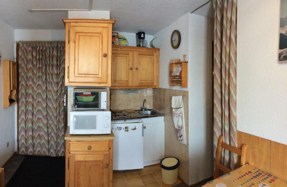 Wakacje w górach Studio kabina 4 osoby (C104) - Résidence Plein Soleil - La Toussuire - Aneks kuchenny