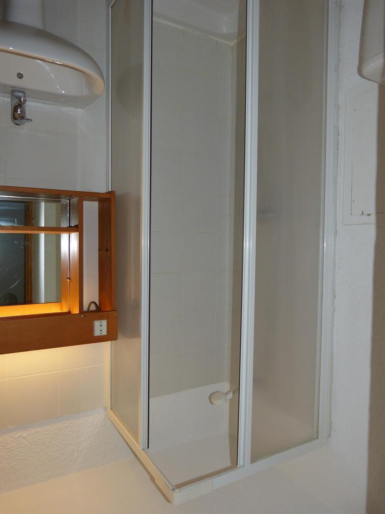 Holiday in mountain resort Studio mezzanine 4 people (36) - Résidence Plein Soleil - La Plagne - Shower