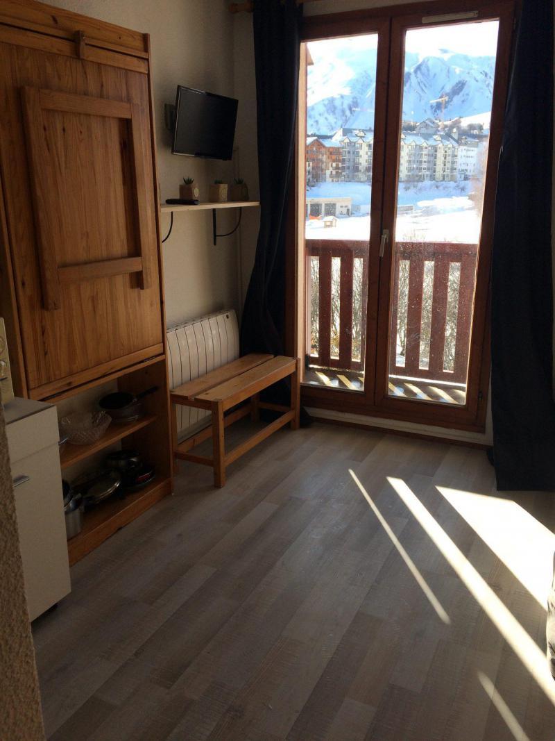 Wakacje w górach Studio z alkową 3 osoby (C96) - Résidence Plein Soleil - La Toussuire - Pokój gościnny