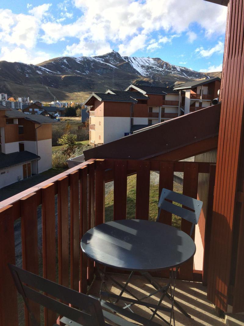 Wakacje w górach Studio z antresolą 4 osoby (B62) - Résidence Plein Soleil - La Toussuire - Balkon