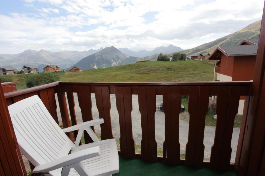 Wakacje w górach Studio z antresolą 4 osoby (B63) - Résidence Plein Soleil - La Toussuire - Balkon