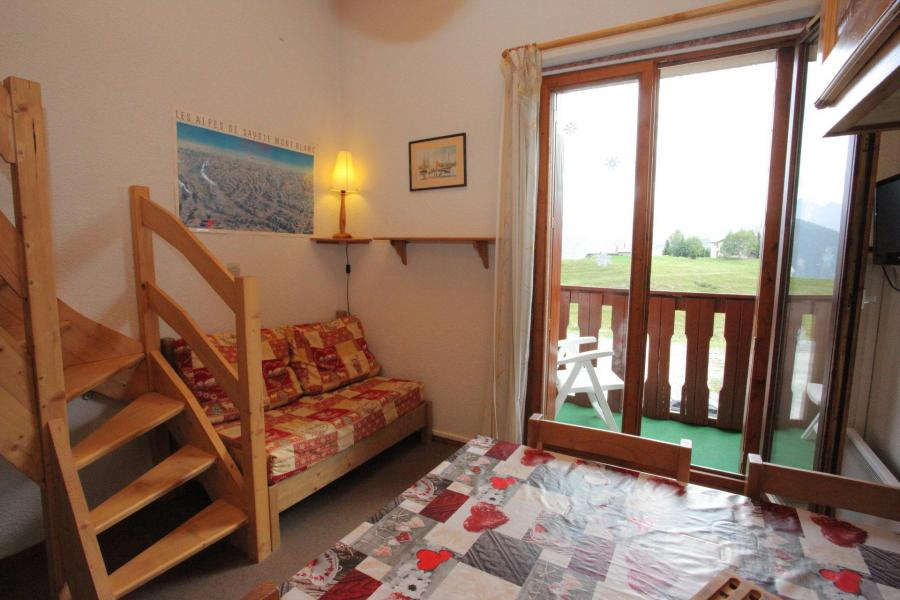 Wakacje w górach Studio z antresolą 4 osoby (B63) - Résidence Plein Soleil - La Toussuire - Pokój gościnny