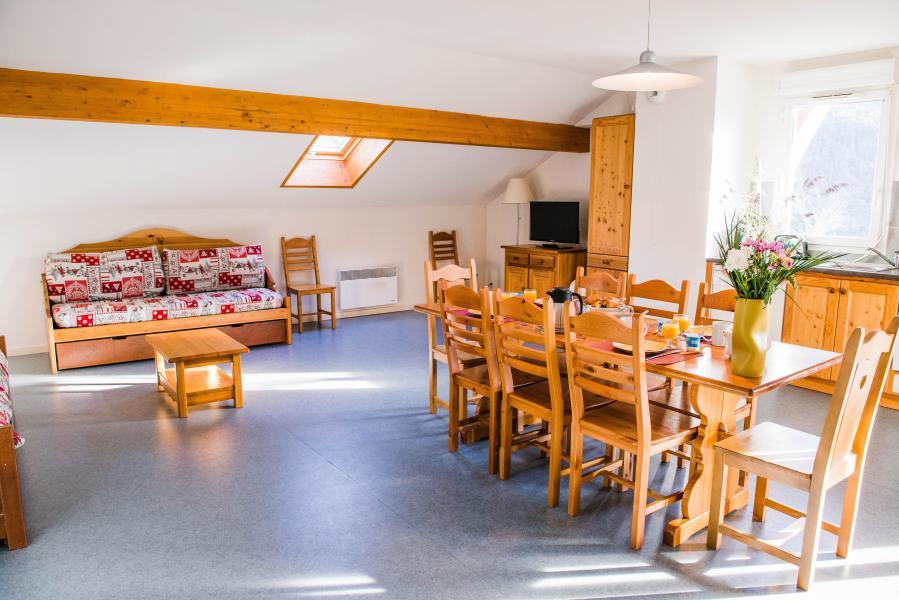 Urlaub in den Bergen Résidence Plein Soleil - La Norma - Wohnzimmer