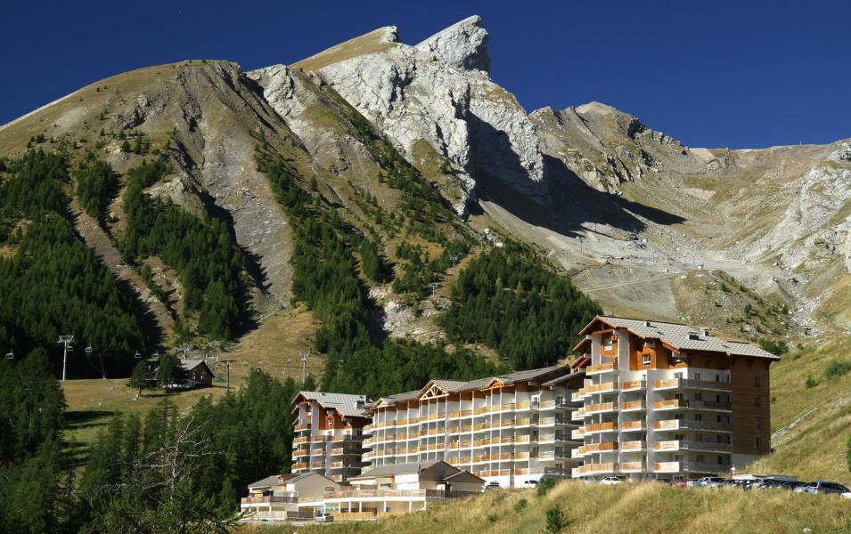 Vakantie in de bergen Résidence Plein Sud - Val d'Allos - Buiten zomer