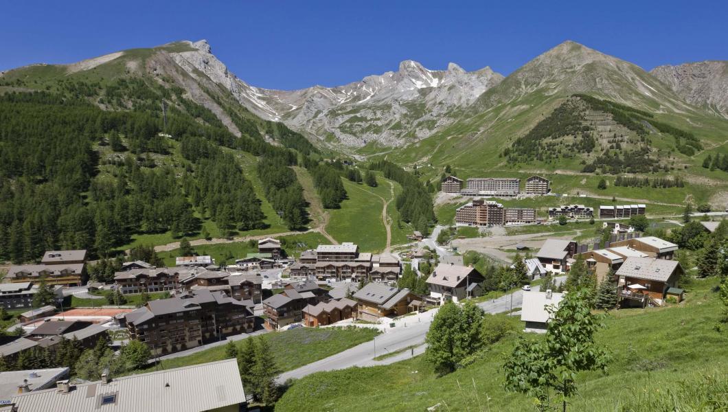 Wynajem na narty Résidence Plein Sud - Val d'Allos - Na zewnątrz latem