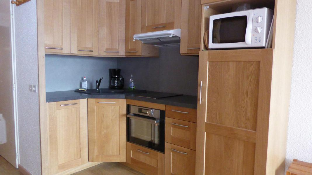 Holiday in mountain resort Studio sleeping corner 4 people (2403) - Résidence Plein Sud A - Les 2 Alpes - Kitchenette