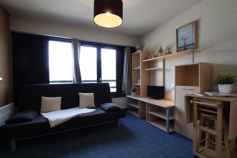 Holiday in mountain resort Studio sleeping corner 4 people (207) - Résidence Podium - Puy-Saint-Vincent - Sofa bed