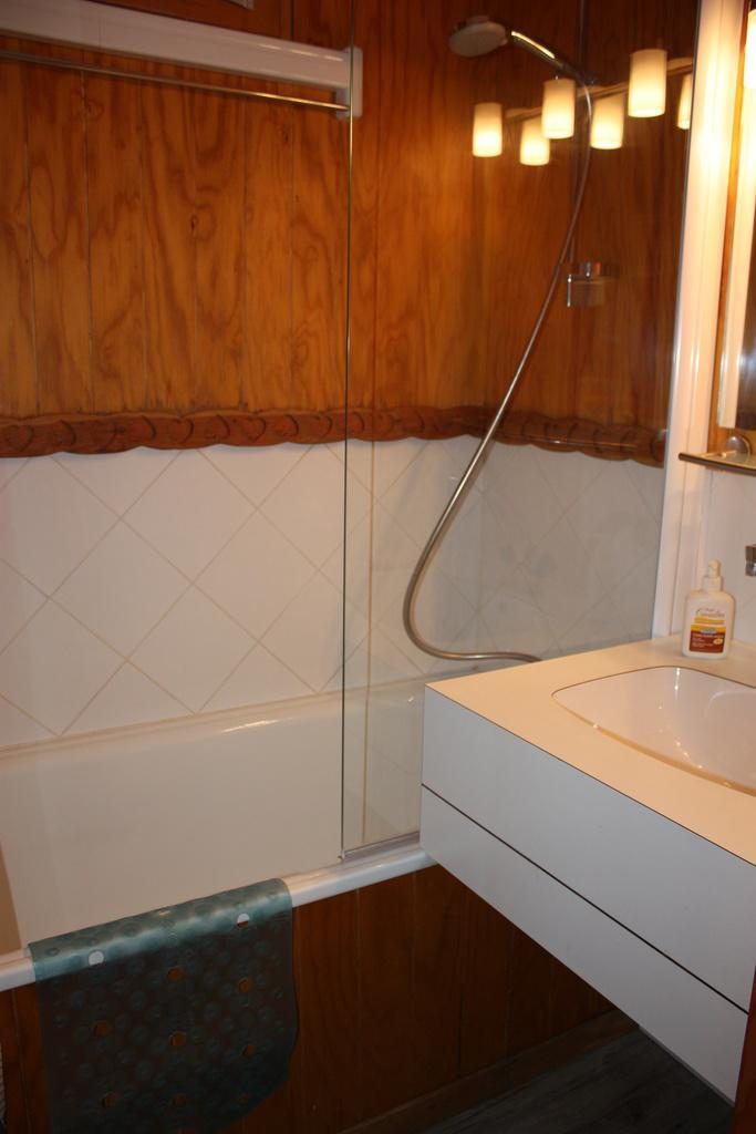 Holiday in mountain resort 2 room apartment 5 people (4) - Résidence Porte de Montchavin - Montchavin - La Plagne - Bath-tub