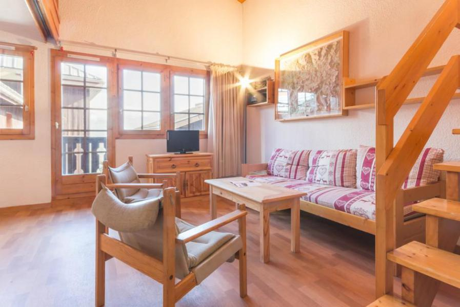 Holiday in mountain resort 3 room mezzanine apartment 8 people (20) - Résidence Porte de Montchavin - Montchavin - La Plagne - Double bed