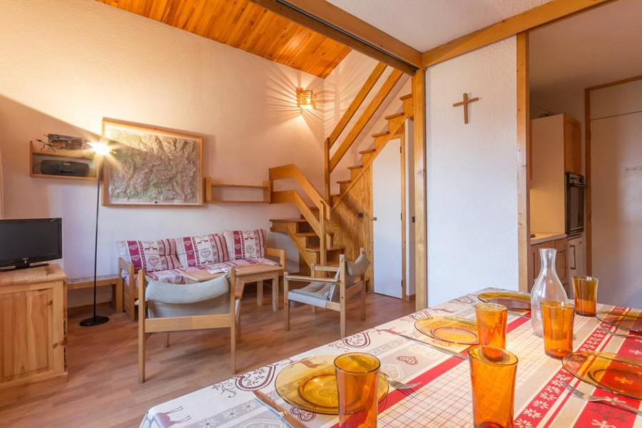 Holiday in mountain resort 3 room mezzanine apartment 8 people (20) - Résidence Porte de Montchavin - Montchavin La Plagne