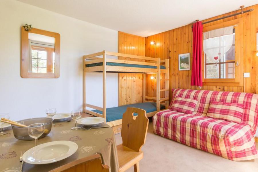 Holiday in mountain resort Studio 4 people (7) - Résidence Porte de Montchavin - Montchavin - La Plagne - Living room