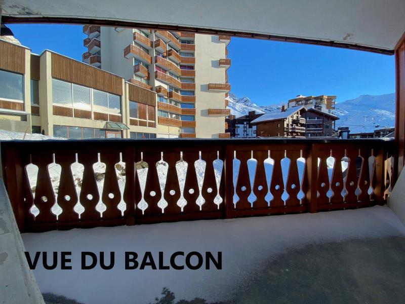 Holiday in mountain resort Studio 4 people (204) - Résidence Portillo - Val Thorens