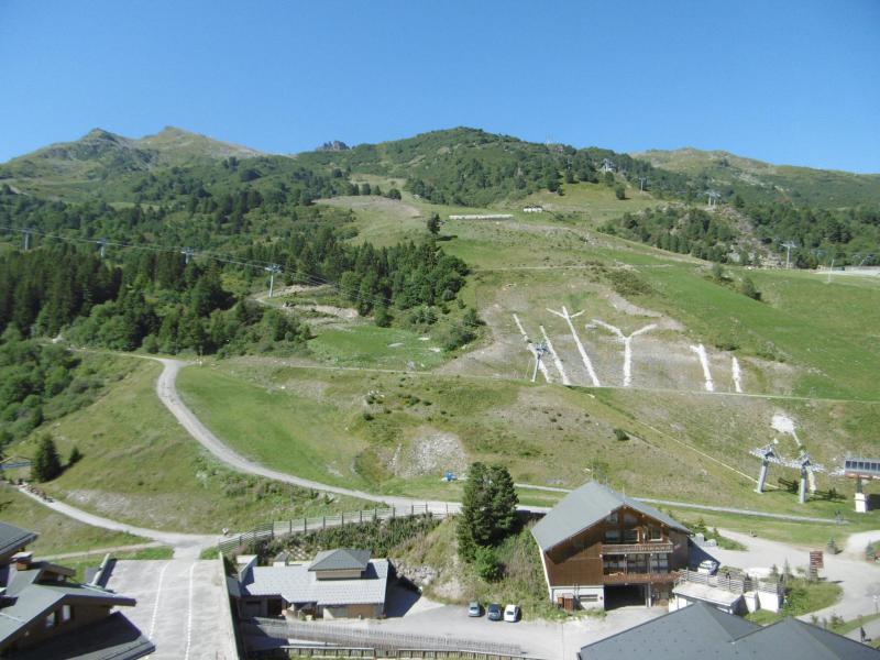 Location au ski Résidence Pralin - Méribel-Mottaret - Extérieur été