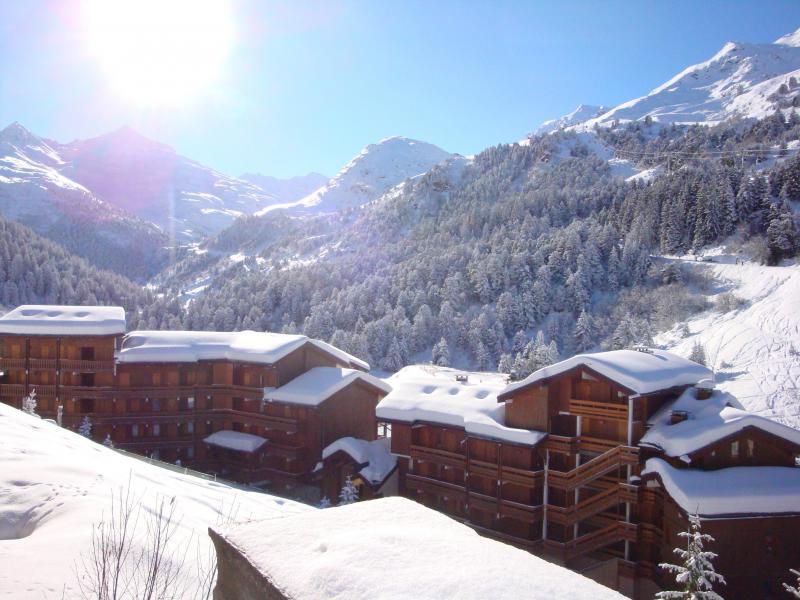 Vacances en montagne Studio 4 personnes (808) - Résidence Pralin - Méribel-Mottaret