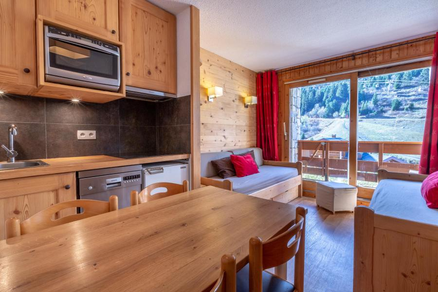 Vacances en montagne Studio 5 personnes (715) - Résidence Pralin - Méribel-Mottaret