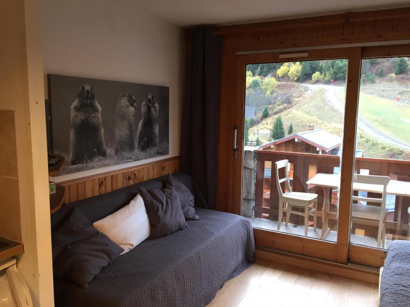 Vacances en montagne Studio coin montagne 4 personnes (815) - Résidence Pralin - Méribel-Mottaret