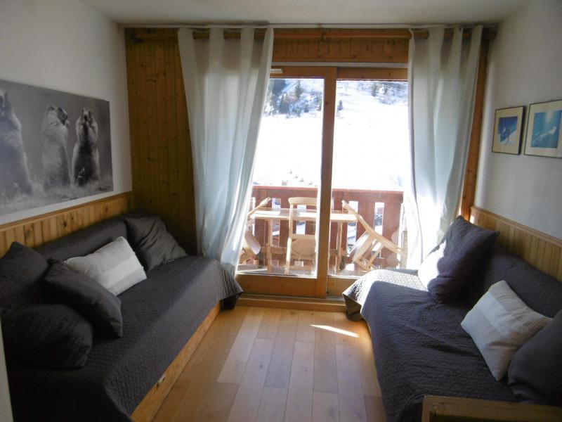 Vacances en montagne Studio coin montagne 4 personnes (815) - Résidence Pralin - Méribel-Mottaret - Canapé-lit