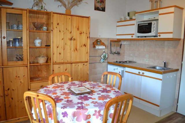 Vacaciones en montaña Apartamento cabina 2 piezas para 4 personas (PLPA16) - Résidence Praz les Pistes - Praz sur Arly - Mesa