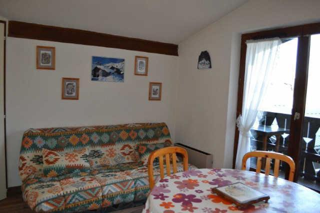 Vacaciones en montaña Apartamento cabina 2 piezas para 4 personas (PLPA16) - Résidence Praz les Pistes - Praz sur Arly - Sofá-cama