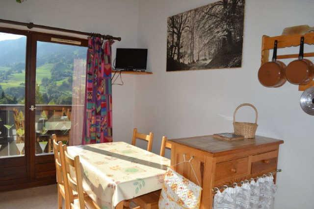 Vacaciones en montaña Estudio para 4 personas (PLPA19) - Résidence Praz les Pistes - Praz sur Arly - Comedor