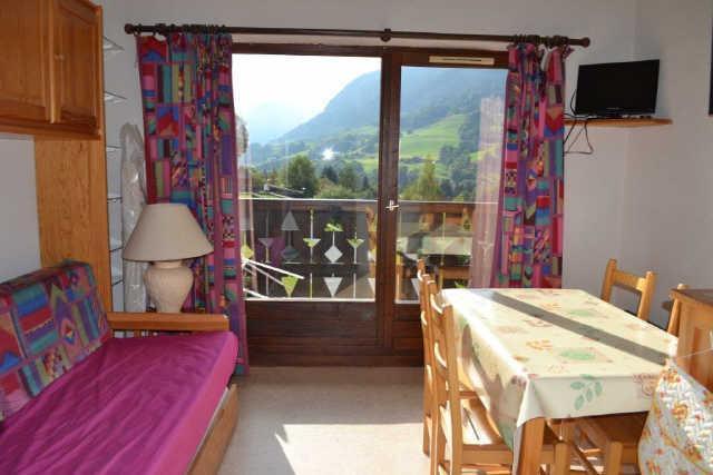 Vacaciones en montaña Estudio para 4 personas (PLPA19) - Résidence Praz les Pistes - Praz sur Arly - Sofá-cama