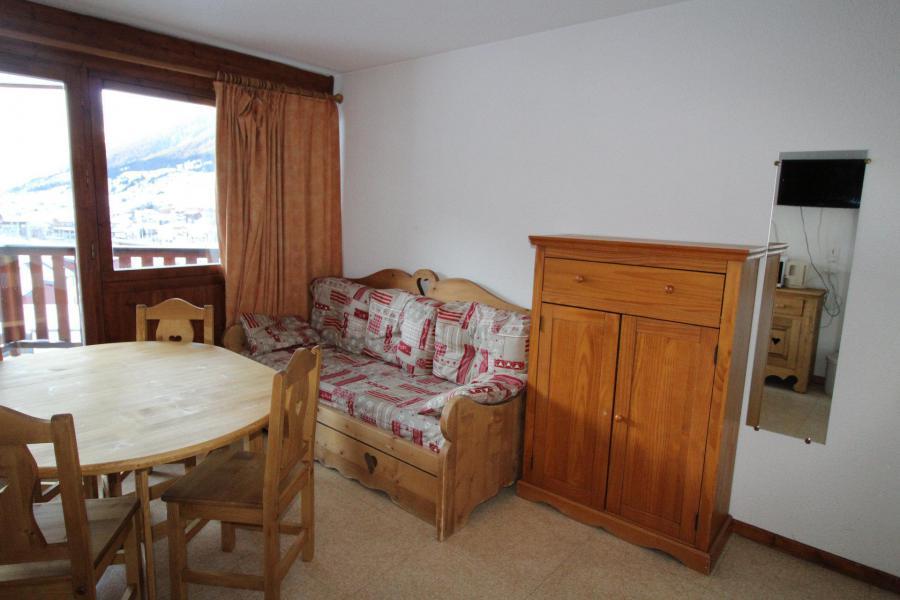 Vacances en montagne Studio coin montagne 3 personnes (010) - Résidence Prés du Bois - Val Cenis - Séjour