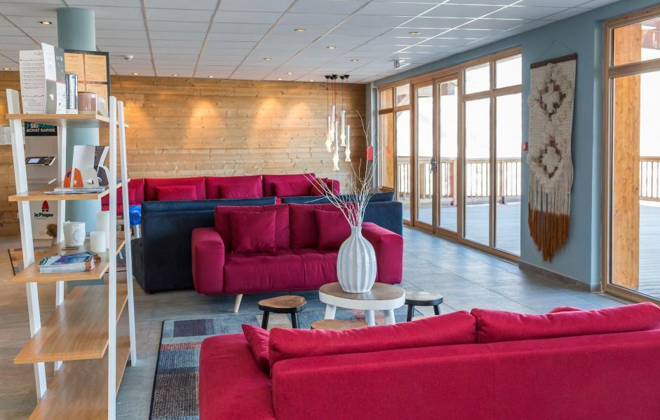 Urlaub in den Bergen Résidence Prestige Front de Neige - La Plagne - Rezeption