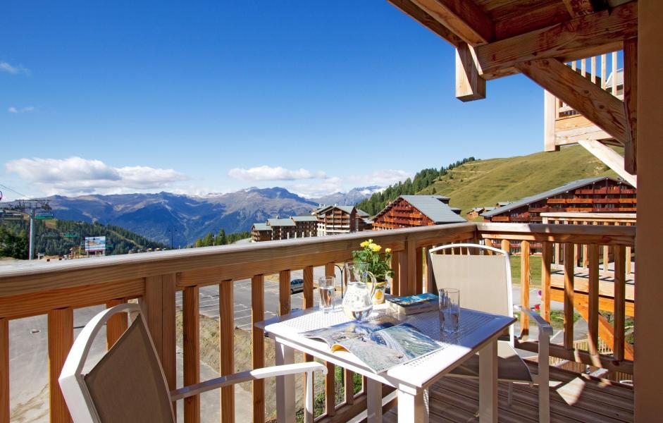Urlaub in den Bergen Résidence Prestige Front de Neige - La Plagne - Draußen im Sommer