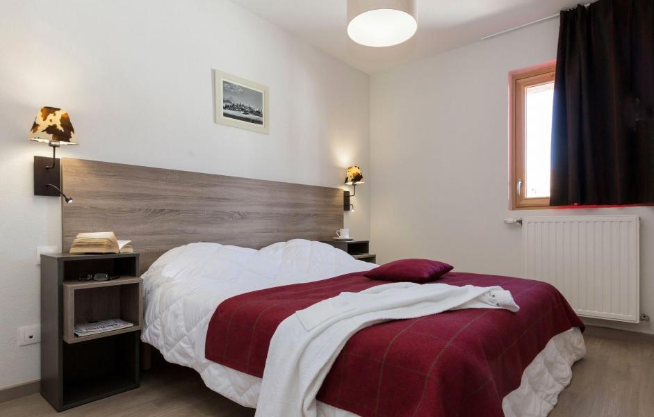 Urlaub in den Bergen Résidence Prestige Front de Neige - La Plagne - Doppelbett