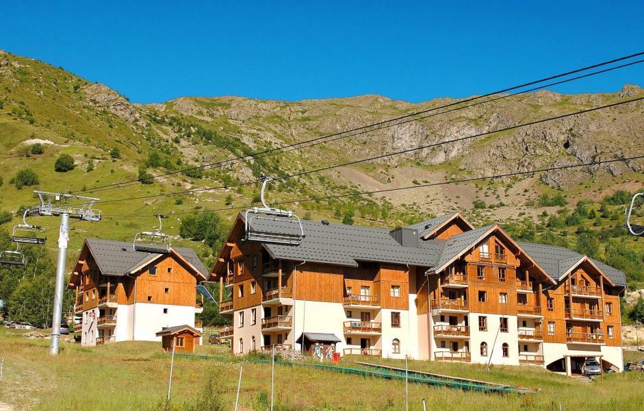 Vacances en montagne Résidence Prestige l'Orée des Pistes - Saint Sorlin d'Arves - Extérieur été
