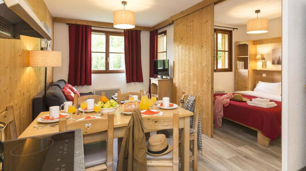 Vacances en montagne Résidence Prestige l'Orée des Pistes - Saint Sorlin d'Arves - Coin repas