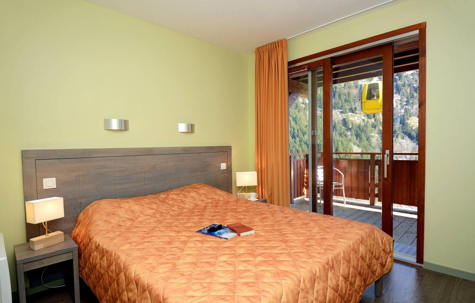 Urlaub in den Bergen Résidence Prestige la Cascade - les Epinettes - Vaujany - Doppelbett