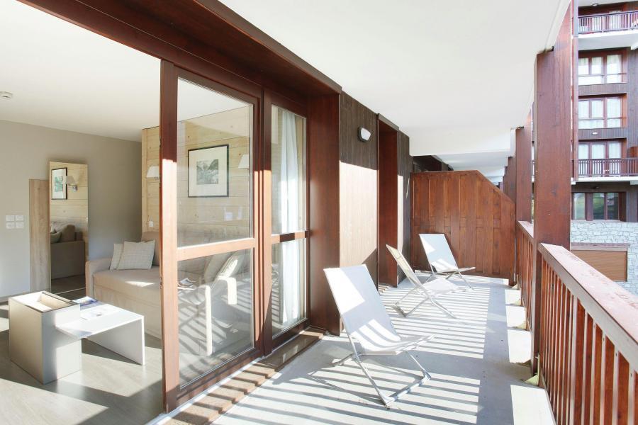 Urlaub in den Bergen Résidence Prestige  le Panoramic - Flaine - Balkon