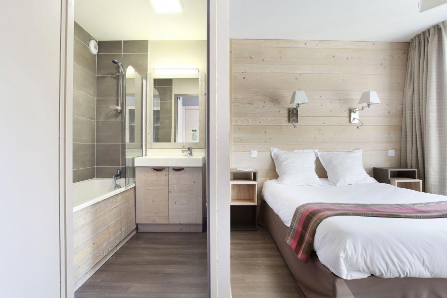 Urlaub in den Bergen Résidence Prestige  le Panoramic - Flaine - Doppelbett