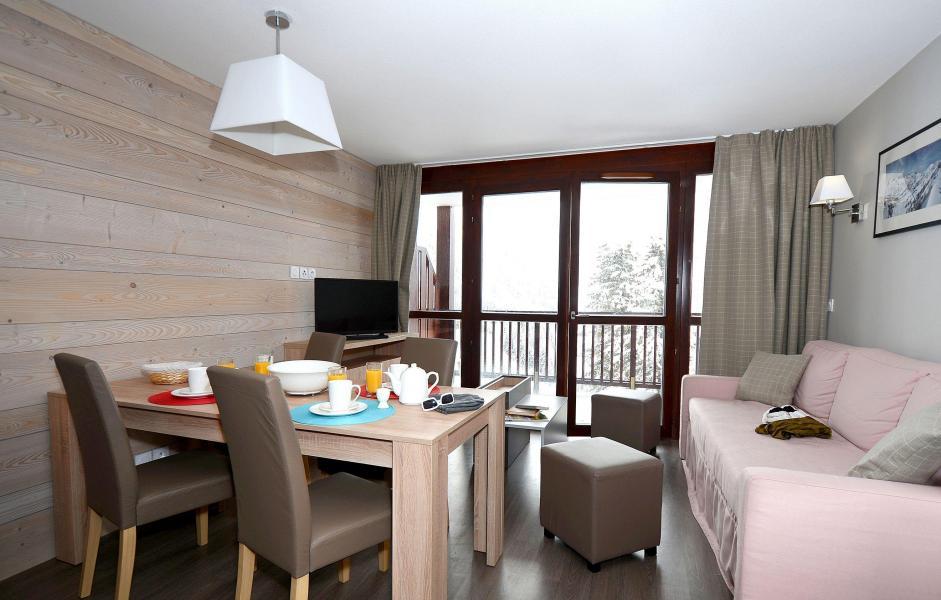 Urlaub in den Bergen Résidence Prestige  le Panoramic - Flaine - Wohnzimmer