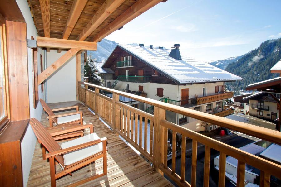 Vacances en montagne Résidence Prestige les Fermes de Châtel - Châtel - Balcon