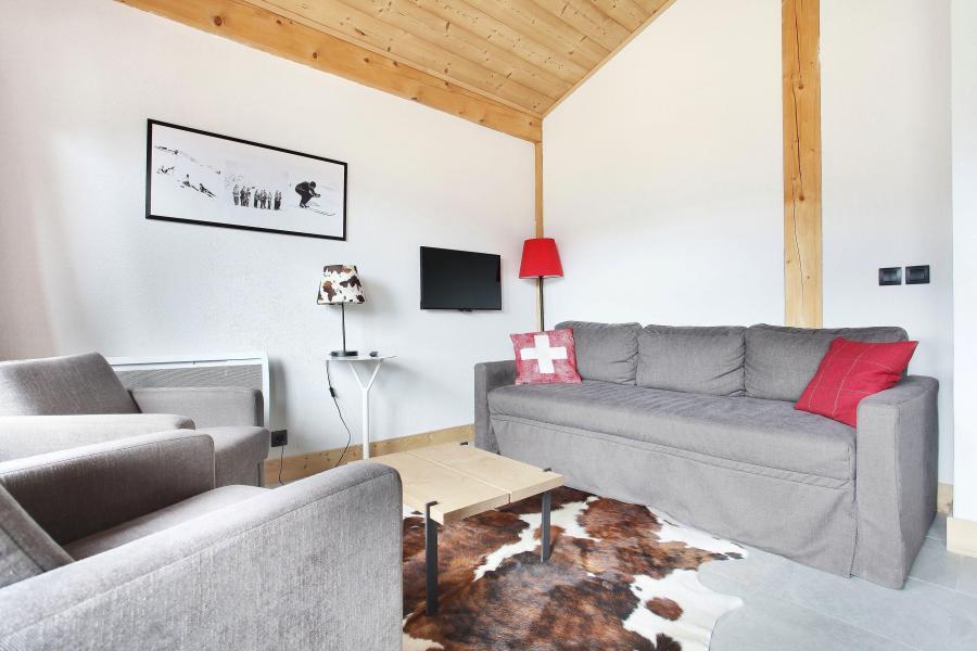 Vacances en montagne Résidence Prestige les Fermes de Châtel - Châtel - Canapé-lit