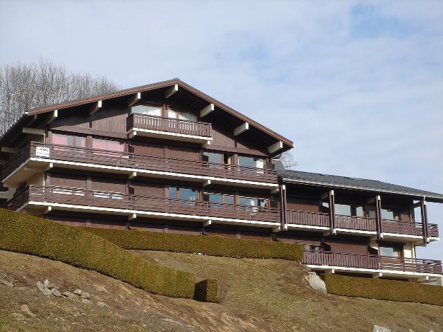 Urlaub in den Bergen Résidence Princesse en Etraz Jonquilles - Combloux - Draußen im Sommer