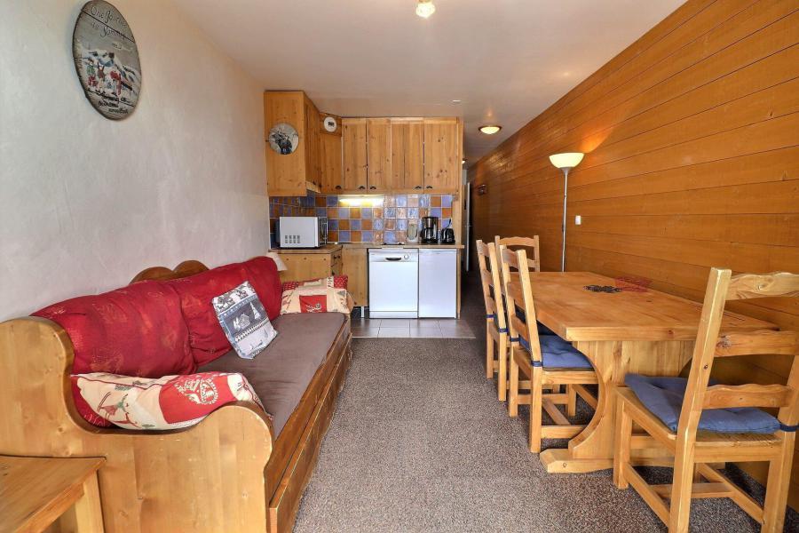 Vacances en montagne Appartement 2 pièces 4 personnes (014) - Résidence Provères - Méribel-Mottaret - Logement