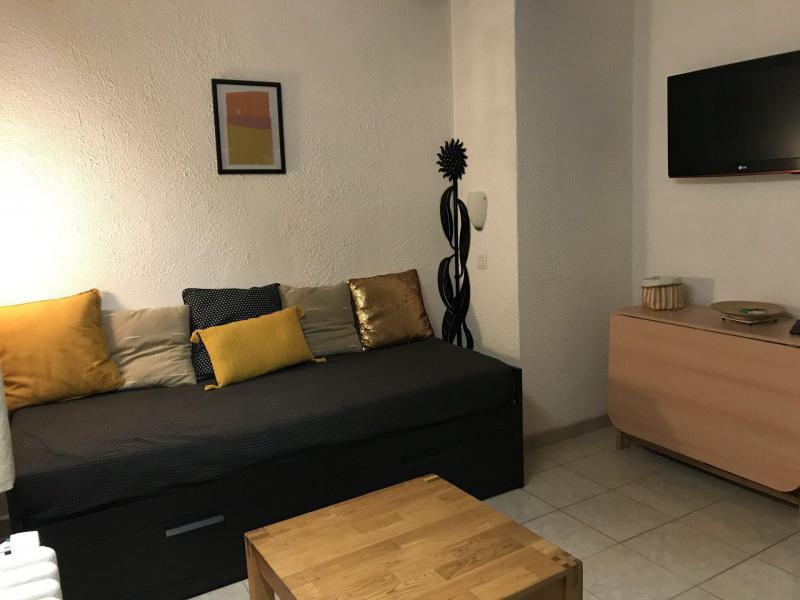 Holiday in mountain resort Studio sleeping corner 3 people (37) - Résidence Rapin - Valloire