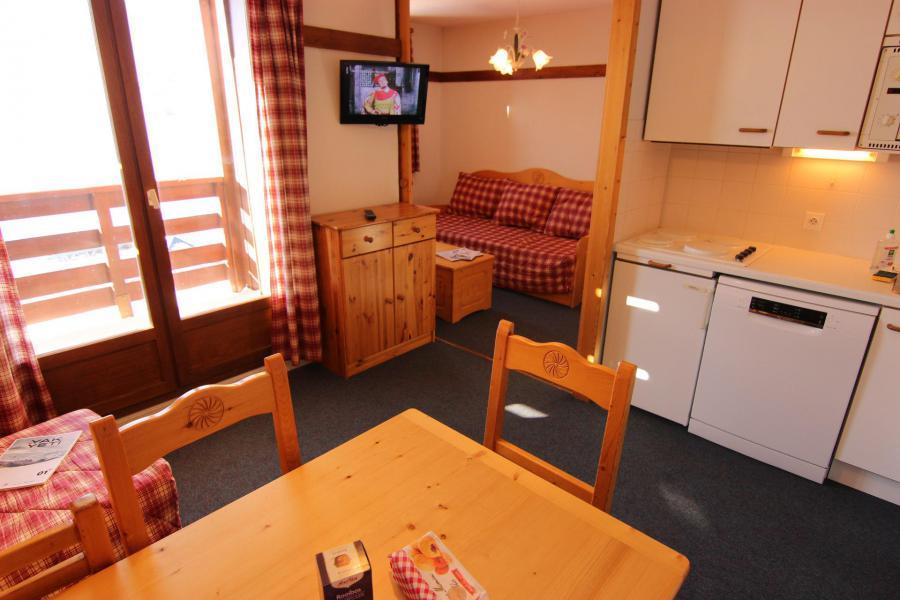 Vacances en montagne Appartement 2 pièces cabine 4 personnes (112) - Résidence Reine Blanche - Val Thorens