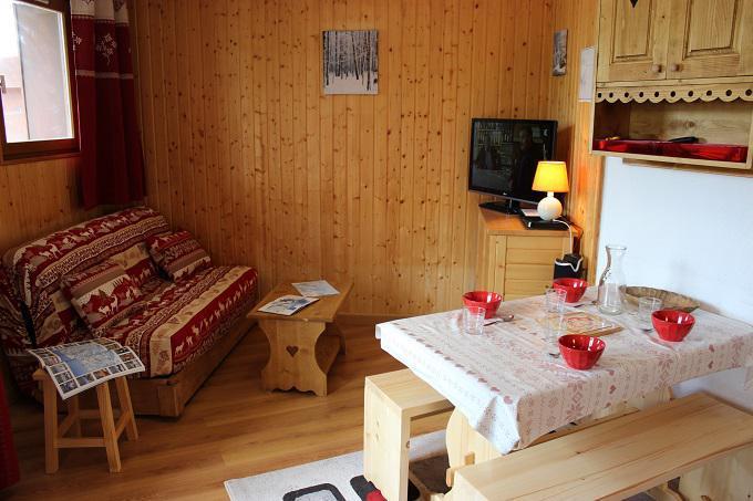 Vacances en montagne Appartement 2 pièces cabine 4 personnes (57) - Résidence Reine Blanche - Val Thorens