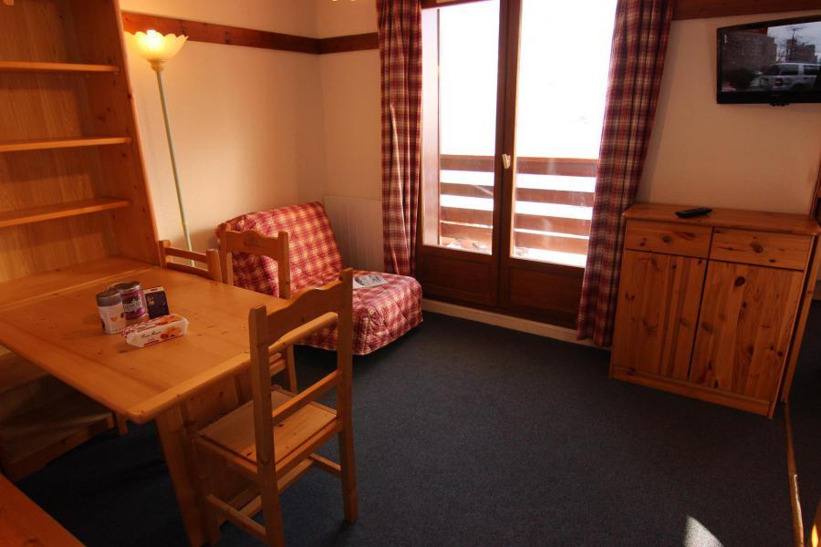 Vacances en montagne Appartement 2 pièces cabine 4 personnes (112) - Résidence Reine Blanche - Val Thorens - Séjour