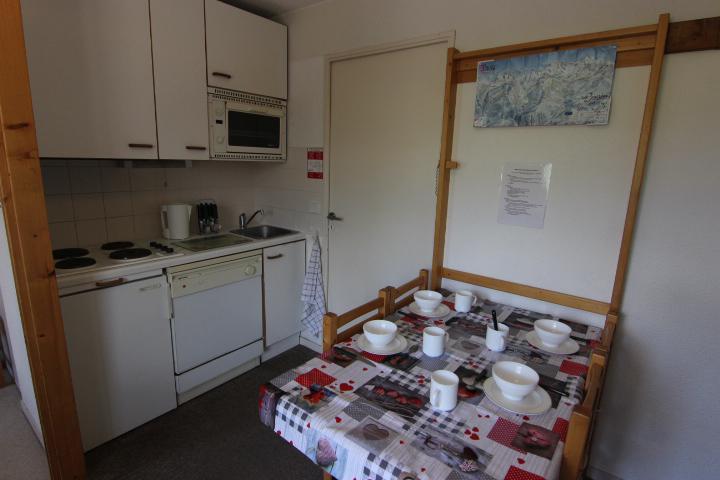Vacances en montagne Appartement 2 pièces cabine 4 personnes (9) - Résidence Reine Blanche - Val Thorens - Coin repas