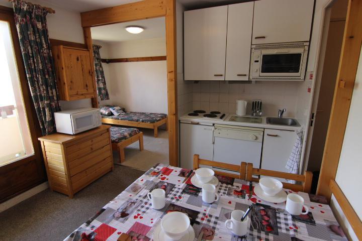 Vacances en montagne Appartement 2 pièces cabine 4 personnes (9) - Résidence Reine Blanche - Val Thorens - Séjour