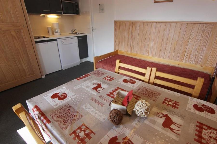 Vacances en montagne Appartement 2 pièces cabine 4 personnes (94) - Résidence Reine Blanche - Val Thorens - Canapé