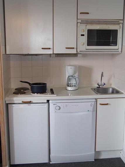 Vacances en montagne Appartement 2 pièces cabine 4 personnes (94) - Résidence Reine Blanche - Val Thorens - Kitchenette